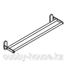 БРОГРУНД Штанга для полотенца, нержавеющ сталь, 67 см, фото 2