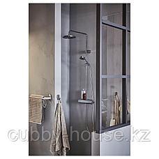 БРОГРУНД Штанга для полотенца, нержавеющ сталь, 67 см, фото 3