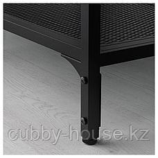 ФЬЕЛЛЬБО Стеллаж, черный, 100x136 см, фото 2