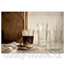 ВАРДАГЕН Стакан, прозрачное стекло, 43 сл, фото 3