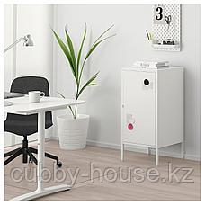 ХЭЛЛАН Комбинация для хранения с дверцами, белый, 45x47x92 см, фото 3