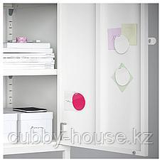 ХЭЛЛАН Комбинация для хранения с дверцами, белый, 45x47x92 см, фото 2