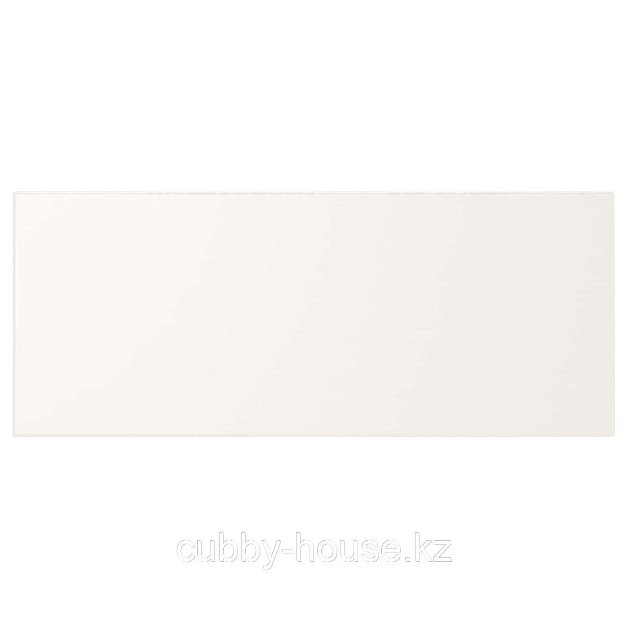 УТРУСТА Фронтальная панель ящика, средняя, белый, 80 см