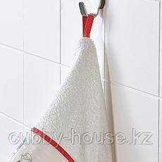 РЁДХАКЕ Полотенце с капюшоном, орнамент «кролики/черника», 60x125 см, фото 2