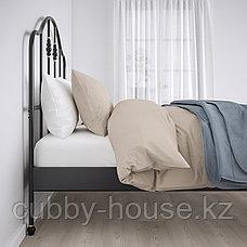 САГСТУА Каркас кровати, черный, 140x200 см, фото 2