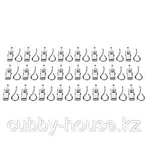 РИКТИГ Гардинный крючок с зажимом, 24 шт, фото 2