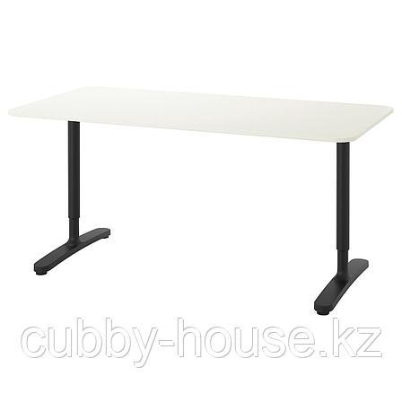 БЕКАНТ Письменный стол, белый, 160x80 см, фото 2