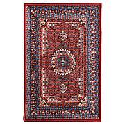 СКИВХОЛЬМЕ Придверный коврик, красный, синий, 60x90 см