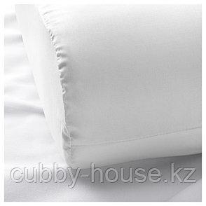РОЗЕНСКЭРМ Наволочка для эргоном подушки, белый, 33x50 см, фото 2