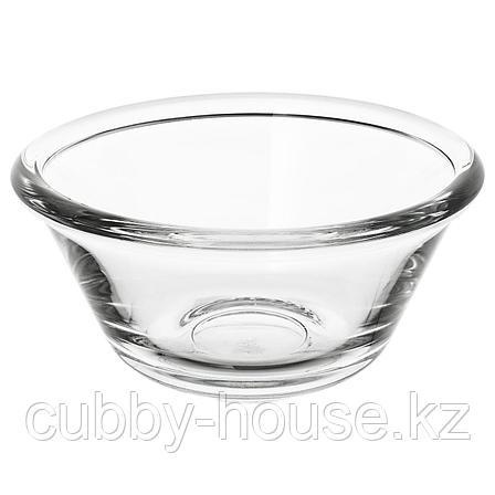 ВАРДАГЕН Миска, прозрачное стекло, 15 см, фото 2