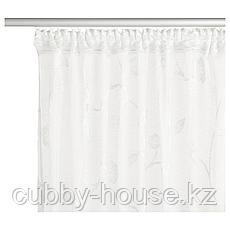 РОТФИБЛА Гардина, белый с оттенком, 300x165 см, фото 3