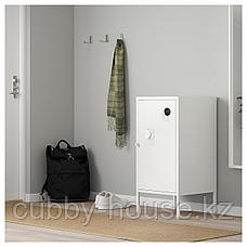 ХЭЛЛАН Шкаф, белый, 45x75 см, фото 2