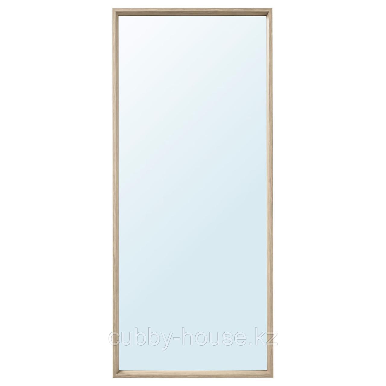 НИССЕДАЛЬ Зеркало, белый, 65x150 см