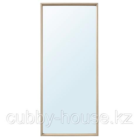 НИССЕДАЛЬ Зеркало, белый, 65x150 см, фото 2