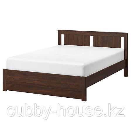СОНГЕСАНД Каркас кровати, белый, 140x200 см, фото 2