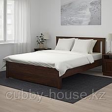 СОНГЕСАНД Каркас кровати, белый, 140x200 см, фото 3