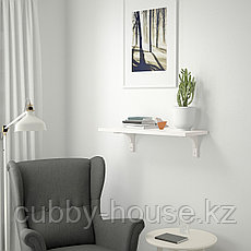 БЕРГСХУЛЬТ / РАМСГУЛЬТ Полка навесная, белый, 80x30 см, фото 2