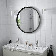 ЛАНГЕСУНД Зеркало, темно-серый, 80 см, фото 2