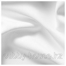 ТИБАСТ Гардины, 1 пара, белый, 145x300 см, фото 2