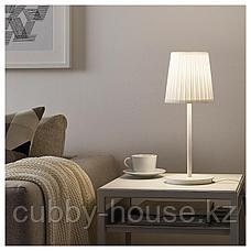 СКАФТЕТ Основание настольной лампы, белый, 30 см, фото 3