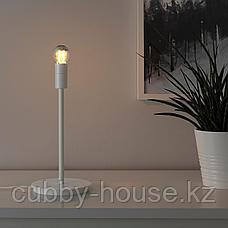 СКАФТЕТ Основание настольной лампы, белый, 30 см, фото 2