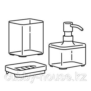 БРОГРУНД Набор для ванной,3 предмета, фото 2