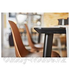 ЛИСАБО Стол, черный, 140x78 см, фото 3