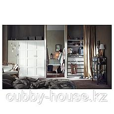 ПАКС Гардероб, белый, 150x58x201 см, фото 3
