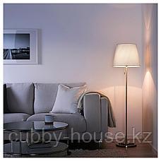 НИФОРС Светильник напольный, никелированный белый, фото 3