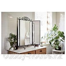 КАРМСУНД Зеркало настольное, черный, 80x74 см, фото 3