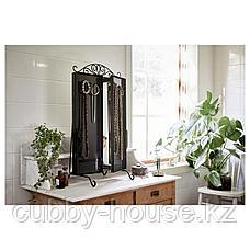 КАРМСУНД Зеркало настольное, черный, 80x74 см, фото 2