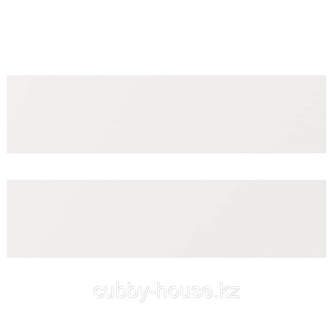 ХЭГГЕБИ Фронтальная панель ящика, белый, 60x20 см