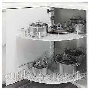 УТРУСТА Выдвижная секц напольн угл шк, 128 см, фото 2