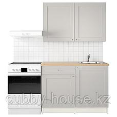 КНОКСХУЛЬТ Кухня, серый, 120x61x220 см, фото 2