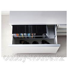 БЕСТО БУРС Тумба под ТВ, глянцевый белый, 180x41x49 см, фото 2