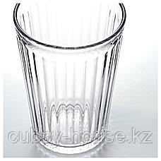 ВАРДАГЕН Стакан, прозрачное стекло, 31 сл, фото 2