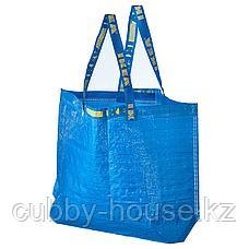 ФРАКТА Сумка, средняя, синий, 36 л, фото 2