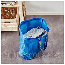 ФРАКТА Сумка, средняя, синий, 36 л, фото 3