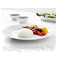 ИКЕА/365+ Тарелка, белый, 27 см, фото 2