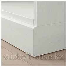 ХАВСТА Стеллаж с цоколем, белый, 81x37x134 см, фото 2