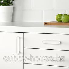 ГУББАРП Ручка мебельная, белый, 21 мм, фото 2