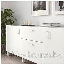 ГУББАРП Ручка мебельная, белый, 21 мм, фото 3