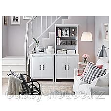 БРУСАЛИ Высокий шкаф с дверцей, белый, 80x190 см, фото 3