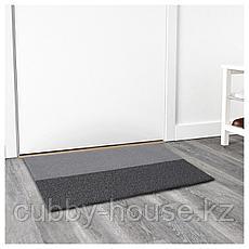 ДЖЕРСИ Придверный коврик, темно-серый, 60x90 см, фото 2