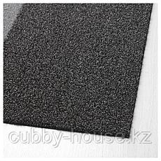 ДЖЕРСИ Придверный коврик, темно-серый, 60x90 см, фото 3