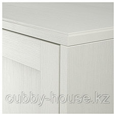ХАВСТА Шкаф с цоколем, белый, 81x37x134 см, фото 2