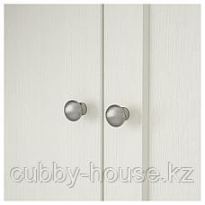 ХАВСТА Шкаф с цоколем, белый, 81x37x134 см, фото 3