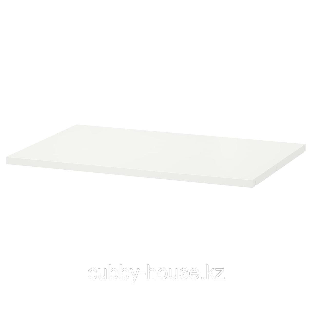 ХЭЛПА Полка, белый, 80x40 см