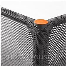 ТУФФИНГ Каркас кровати-чердака, темно-серый, 90x200 см, фото 3