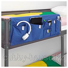 ТУФФИНГ Каркас кровати-чердака, темно-серый, 90x200 см, фото 2